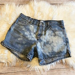 Vintage Calvin Klein High Rise Denim Shorts